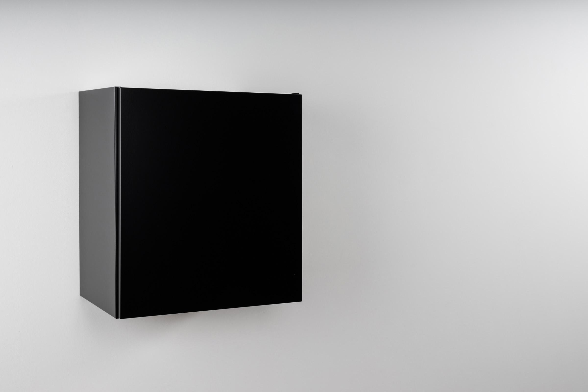 Schwarz matt