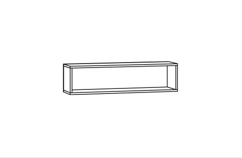 Regal für Spiegelschrank - 60cm