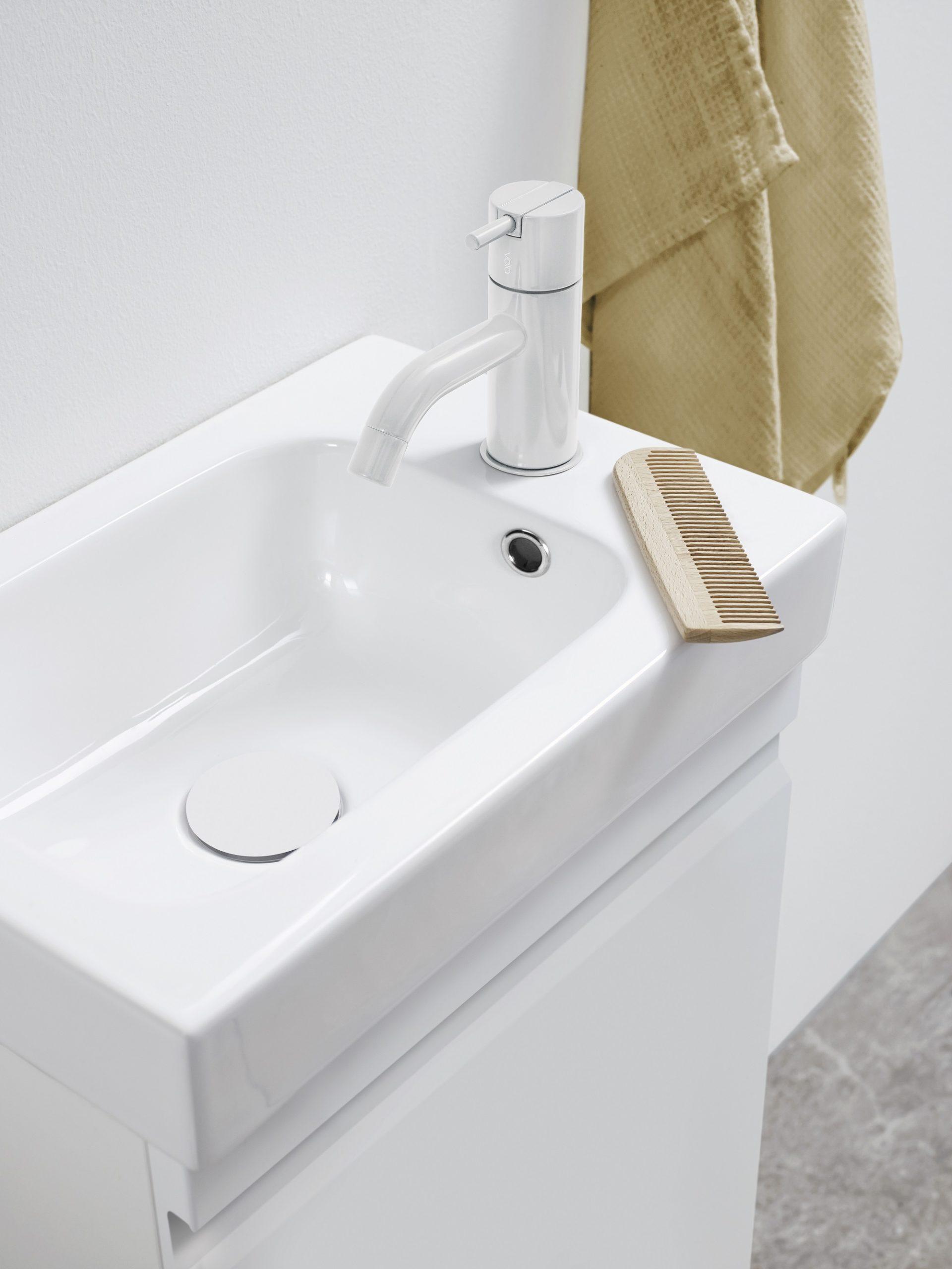 Schmale Waschtische für schmale Räume