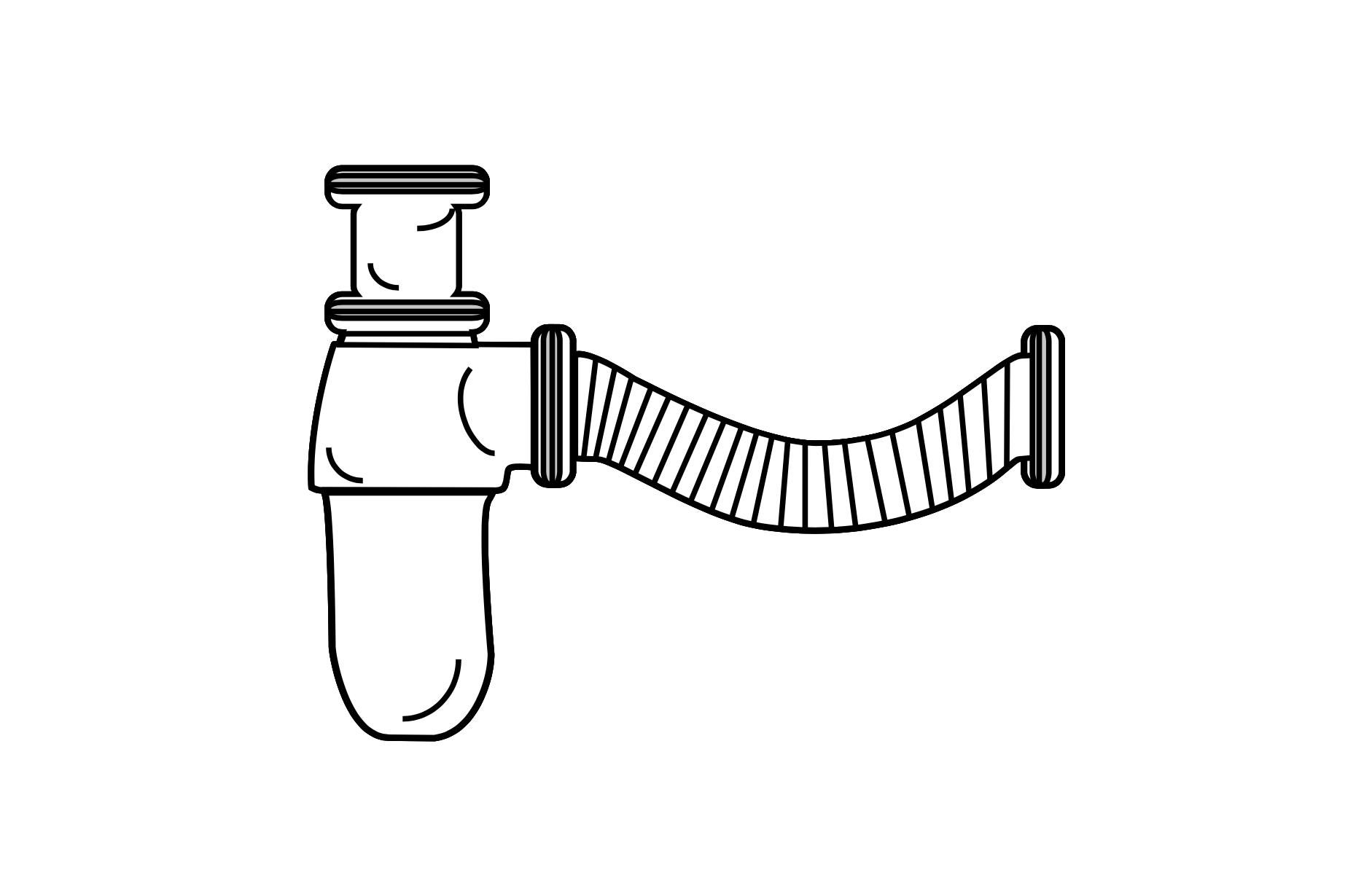 Raumsparsiphon