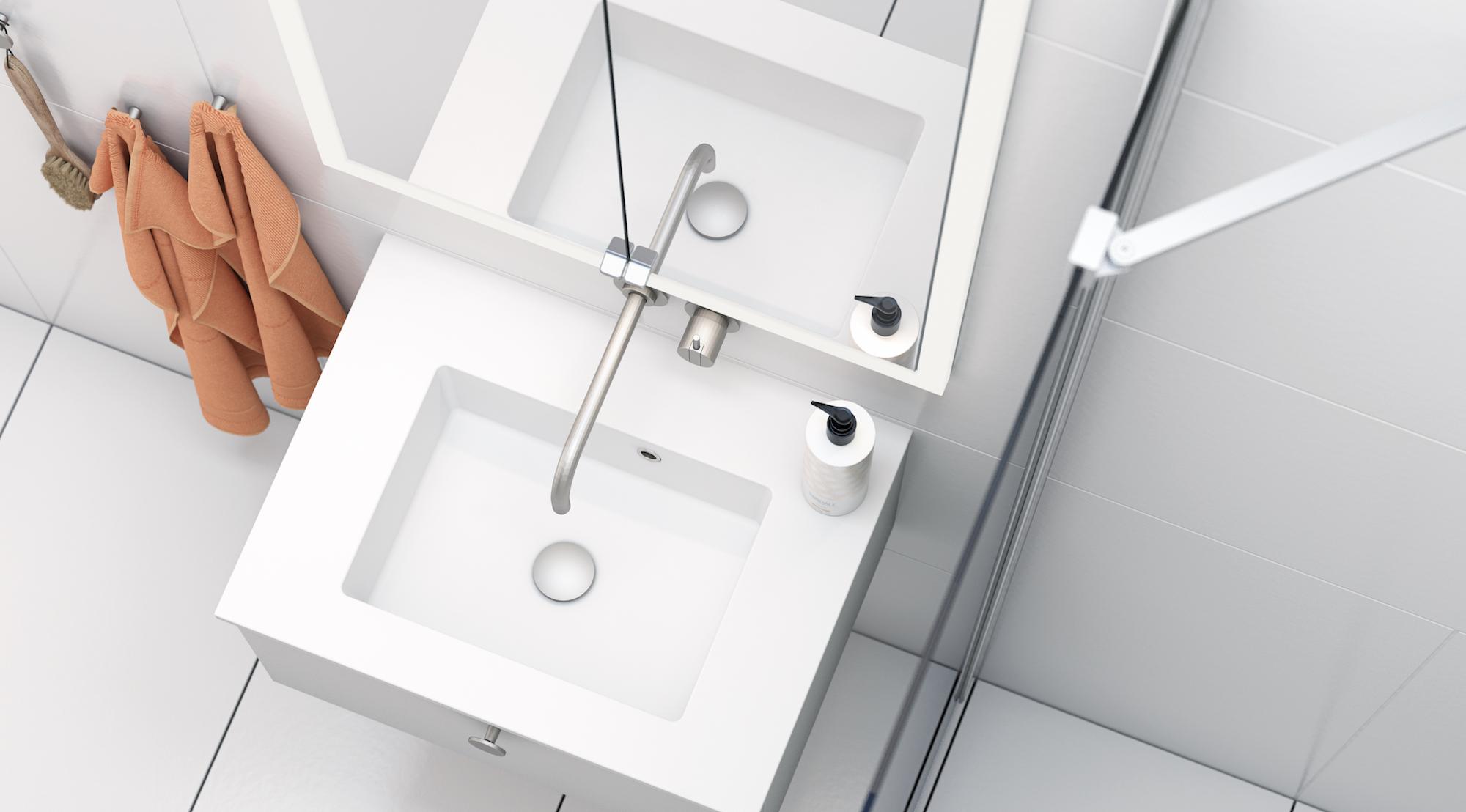 Buil-In Spiegelschrank