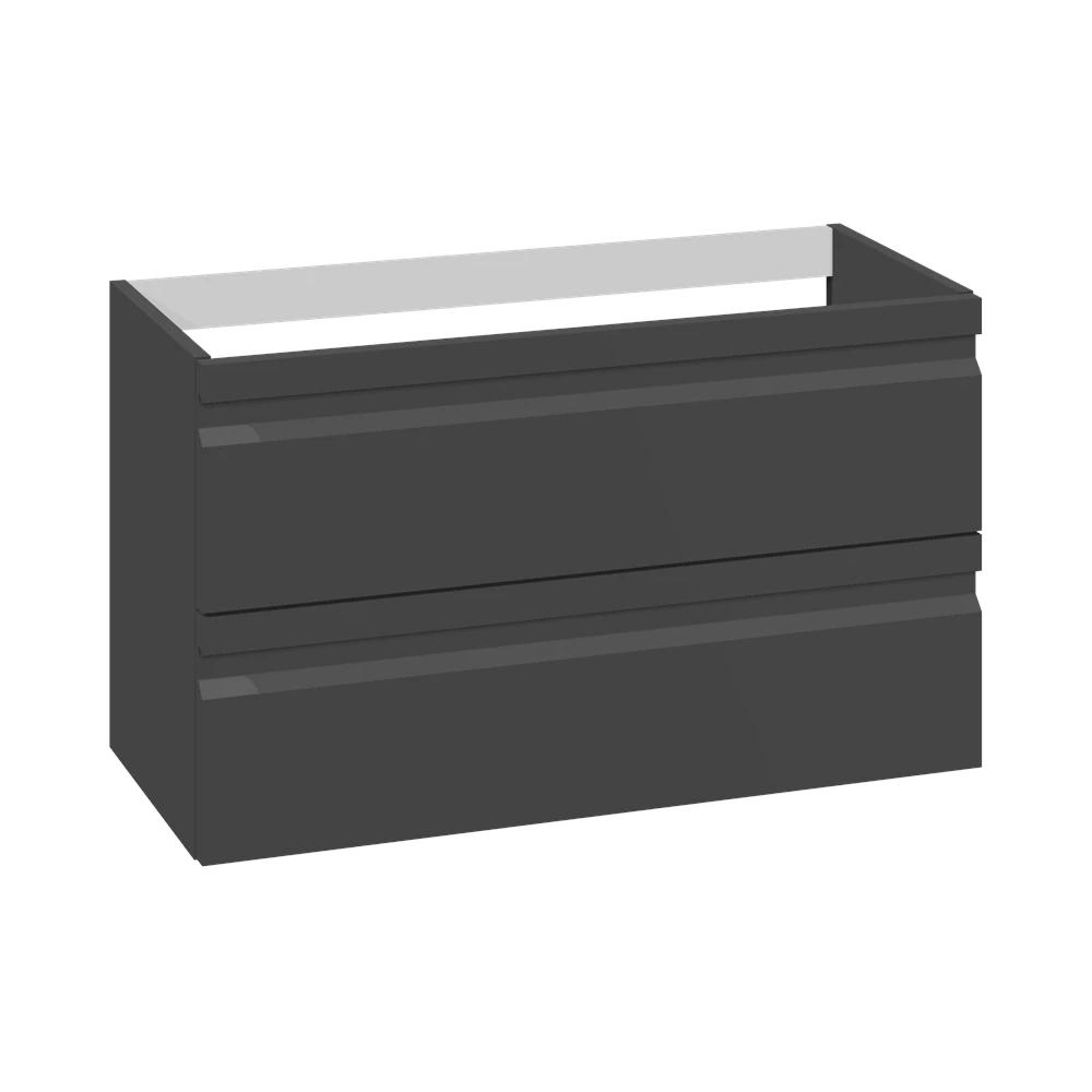 Schwarzer Gummilack, mit integriertem Griff