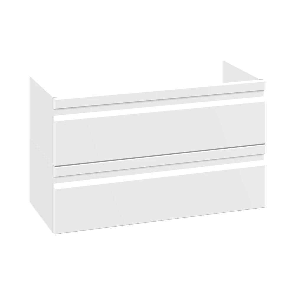 Weiß matt Folie, mit integriertem Griff